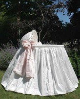The Well Appointed House Lulla Smith Silk Jolie Bassinet-Available in a Variety of Colors