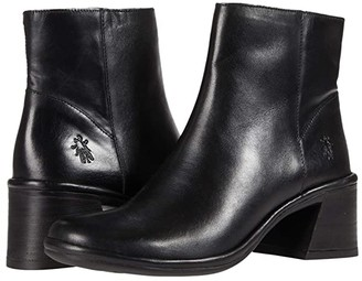 Fly London LAPA522FLY (Black Columbia Leather) Women's Shoes