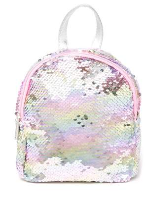 Capelli of New York Sequin Backpack