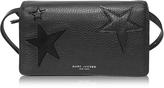 Marc Jacobs Star Patchwork Black Wallet Leather Strap