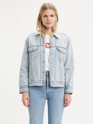 Levi's Levis Sherpa Trucker Jacket with Jacquard by Google