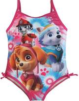 Nickelodeon Little Girls Paw Patrol Print One Piece Swimsuit