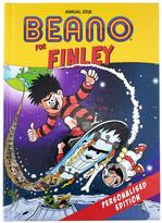 Very Personalised Beano Annual 2018 Book
