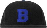 Bibi Chemnitz Black Letter B Snapback Cap