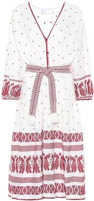 Zimmermann Exclusive to Mytheresa Embroidered linen dress