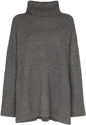 Le Kasha Oversized Turtleneck Cashmere Jumper