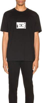 Givenchy Stamp Patch Tee in Black | FWRD