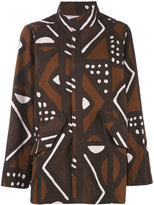 Labo Art - patterned jacket - women - Cotton - 0