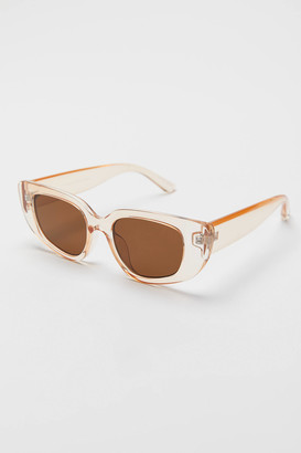 Urban Outfitters Cameron Chunky Rectangle Sunglasses