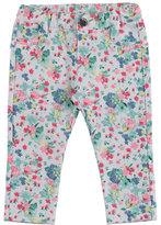 Mayoral Floral Legging Jeans, Jade/Multicolor, Size 12-36 Months