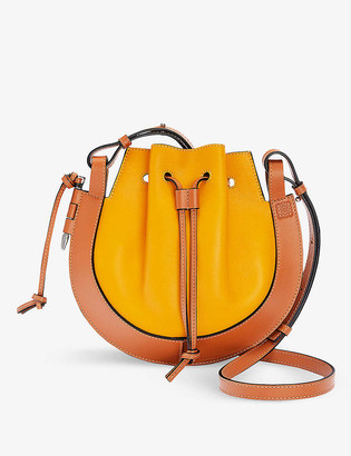 Loewe Horseshoe small leather cross-body bag