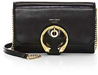 Jimmy Choo Women's Mini Madeline Leather Wallet-On-Chain
