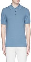 Altea Cotton knit polo shirt