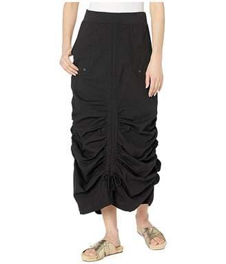 XCVI Vintage Skirt in Stretch Poplin