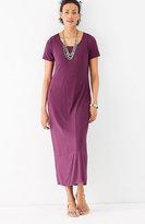 J. Jill Seamed Knit Maxi Dress