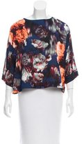 Robert Rodriguez Floral Print Oversize Top w/ Tags