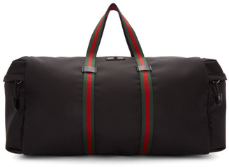 Gucci Black Technical Duffle Bag