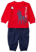 Ralph Lauren Infant Boys' Tee & Cargo Jogger Set - Sizes 3-24 Months