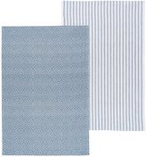 Now Designs Prism Towels - Indigo - 2 ct