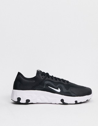 Nike Renew Lucent trainers in black & white