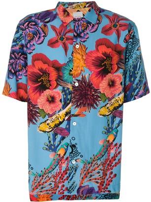 Paul Smith Aquatic Floral Shirt