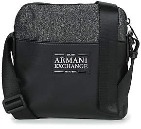 Armani Exchange TROUDIMA men's Pouch in Black