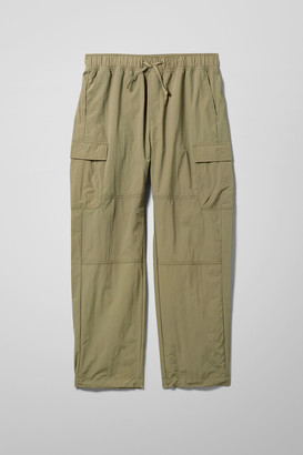 Weekday Franz Utility Woven Joggers - Green