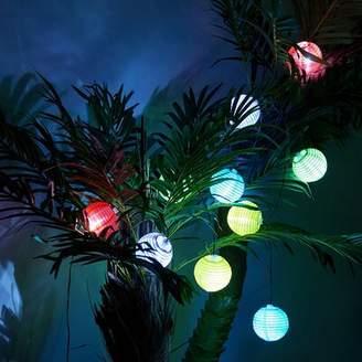 Freeport Park Middlesbrough Solar LED 12.5 ft. 10-Light Lantern String Light Freeport Park