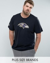 New Era Plus Nfl Seattle Seahawks T-shirt In Navy