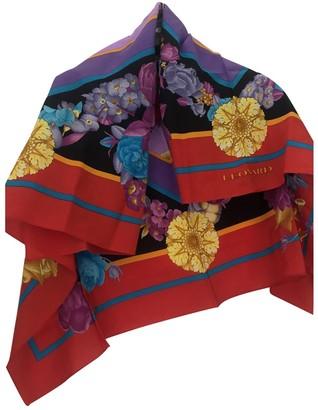 Leonard Multicolour Silk Silk handkerchief