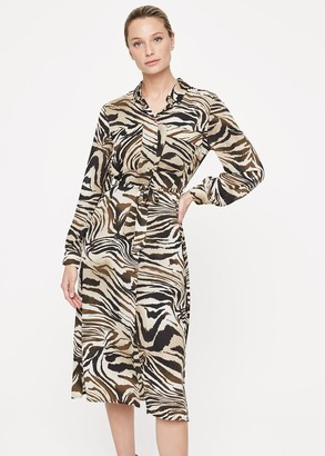 Phase Eight Poppie Printed Shirt Dress