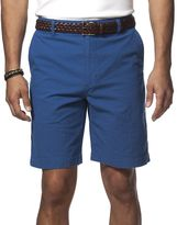 Chaps Big & Tall Classic-Fit Striped Seersucker Shorts