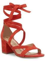 Sam Edelman Sheri Ankle Tie Block Heel Sandals