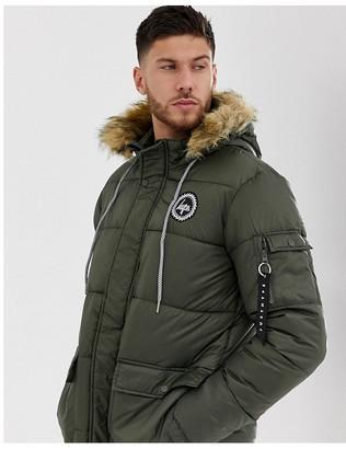 Hype explorer hooded parka jacket