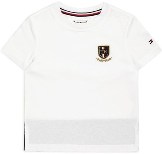 Tommy Hilfiger Junior Logo Crest T-Shirt