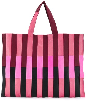 STOULS Tonal Striped Tote