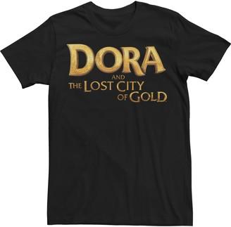 Nickelodeon Men's Dora & The Lost City Of Gold Tee