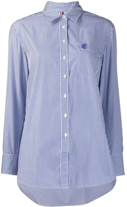 Tommy Hilfiger Pinstriped Long-Sleeve Shirt