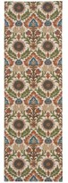 Waverly Global Awakening Santa Maria Pear Area Rug by Nourison (2'6 x 8')