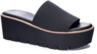 Chinese Laundry Pivot Platform Slide Sandal