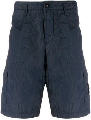 Stone Island Slim-Fit Cargo Shorts