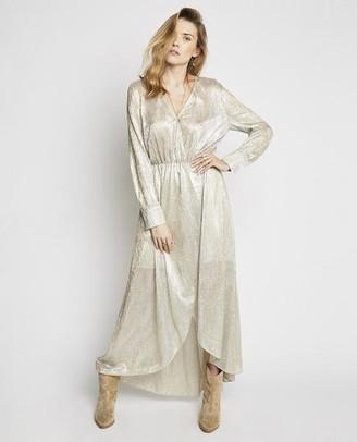Berenice Rhode Silver Dress - EU36 UK8