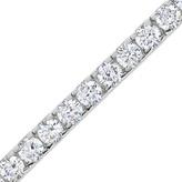 Zales 10 CT. T.W. Diamond Tennis Bracelet in 14K White Gold (J/I2)