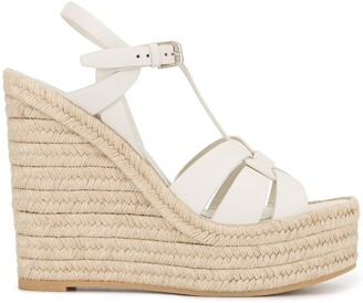 Saint Laurent Tribute wedge sandals