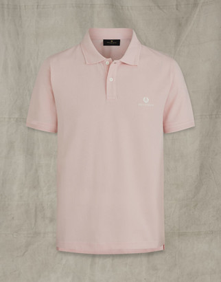 Belstaff SHORT SLEEVED POLO Pink