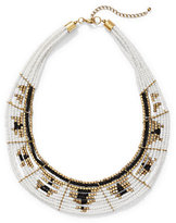 New York & Co. Seed Bead Statement Collar Necklace