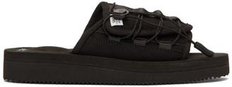 Suicoke Black OLAS-ECS Sandals