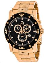 Jivago Titan JV9123XL Men's Round Rose Gold Tone Stainless Steel Watch