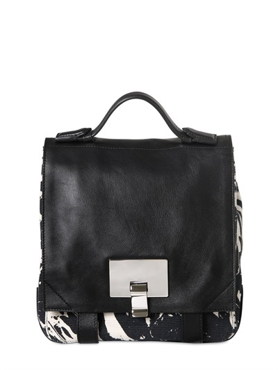 Proenza Schouler Printed Cotton Canvas Mini Backpack