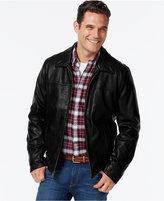 Tommy Hilfiger Faux-Leather Open-Bottom Jacket